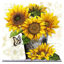 Load image into Gallery viewer, Diamond Painting - Full Square - Sunflower