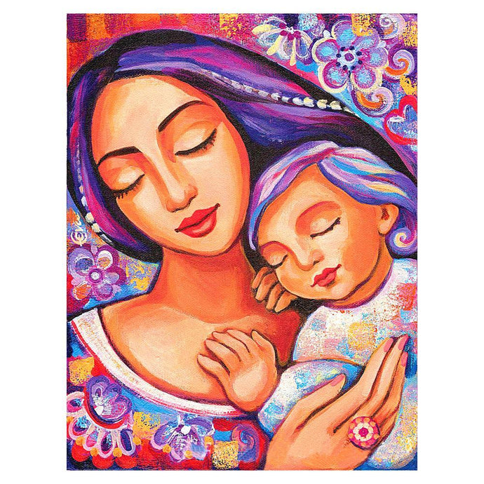 Diamond Painting - Full Round - Mother Love