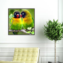 Load image into Gallery viewer, Diamond Painting - Partial Round - Parrots