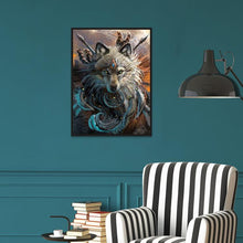Load image into Gallery viewer, Diamond Painting - Full Round - Wolf