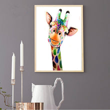 Load image into Gallery viewer, Diamond Painting - Partial Round - Giraffe