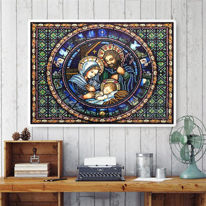 Diamond Painting - Crystal Rhinestone - Religion
