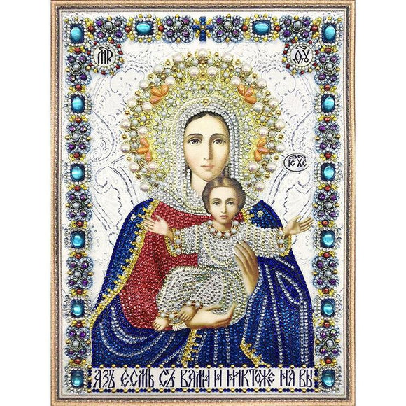 Diamond Painting - Crystal Rhinestone - God Amen