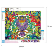 Load image into Gallery viewer, Diamond Painting - Crystal Rhinestone - Owl