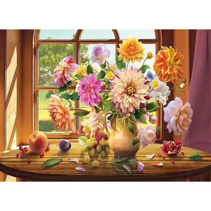 Diamond Painting - Full Square - Flower Vase