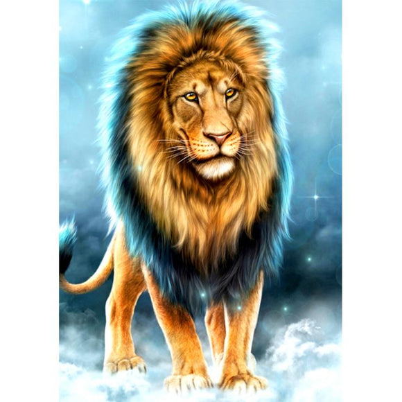 Diamond Painting - Full Square - Cool Lion