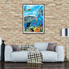 Load image into Gallery viewer, Diamond Painting - Full Round - Freedom Fish World