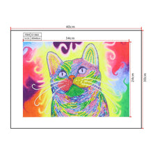 Load image into Gallery viewer, Diamond Painting - Crystal Rhinestone- Cat