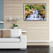 Load image into Gallery viewer, Diamond Painting - Full Round - Beautiful Waterfall