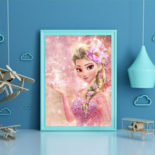 Load image into Gallery viewer, Diamond Painting - Full Round - Pink Elsa