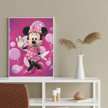 Load image into Gallery viewer, Diamond Painting - Full Round - Happy Minnie