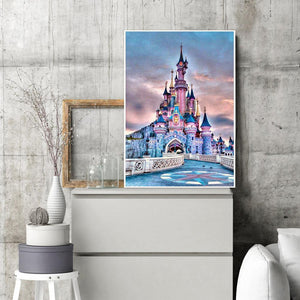 Diamond Painting - Full Round - Castle