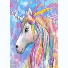 Load image into Gallery viewer, Diamond Painting - Full Round - Colorful Horse