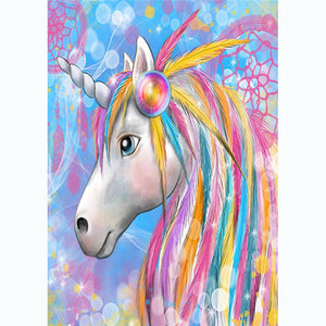 Diamond Painting - Full Round - Colorful Horse