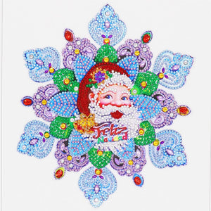 Diamond Painting - Crystal Rhinestone - Santa Claus