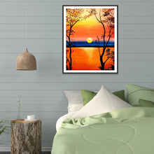 Load image into Gallery viewer, Diamond Painting - Full Round - Beautiful Sunset