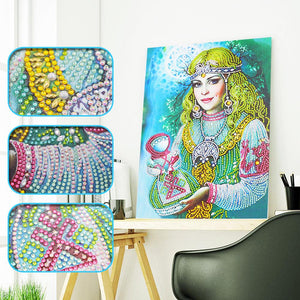 Diamond Painting - Crystal Rhinestone - Beauty