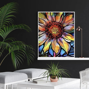 Diamond Painting - Full Round - Sunflower