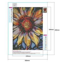 Load image into Gallery viewer, Diamond Painting - Full Round - Sunflower