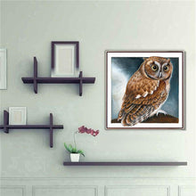 Load image into Gallery viewer, Diamond Painting - Full Round - Owl
