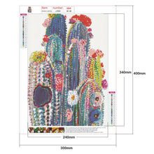 Load image into Gallery viewer, Diamond Painting - Full Round - Cactus