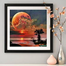Load image into Gallery viewer, Diamond Painting - Full Round - Full Moon