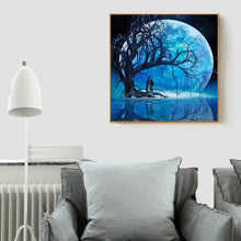 Load image into Gallery viewer, Diamond Painting - Full Round - Romantic Night