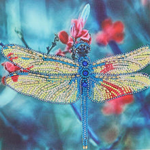 Load image into Gallery viewer, Diamond Painting - Crystal Rhinestone - Dragonfly