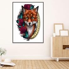 Load image into Gallery viewer, Diamond Painting - Full Round - Fox