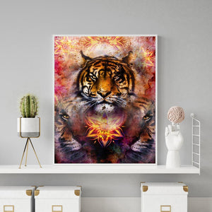Diamond Painting - Full Round - Tiger