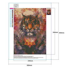 Load image into Gallery viewer, Diamond Painting - Full Round - Tiger