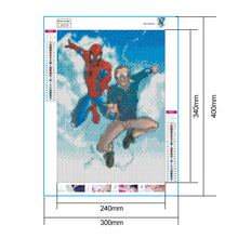 Load image into Gallery viewer, Diamond Painting - Full Round - Spiderman