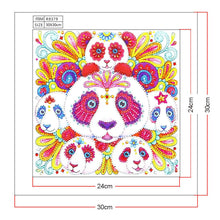 Load image into Gallery viewer, Diamond Painting - Crystal Rhinestone - Cute Panda
