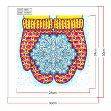 Load image into Gallery viewer, Diamond Painting - Crystal Rhinestone - Glove Snowflake