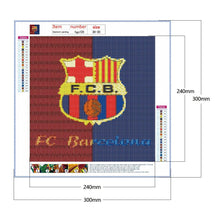 Load image into Gallery viewer, Diamond Painting - Full Round - FC Barcelona