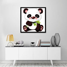 Load image into Gallery viewer, Diamond Painting - Full Round - Cute Panda