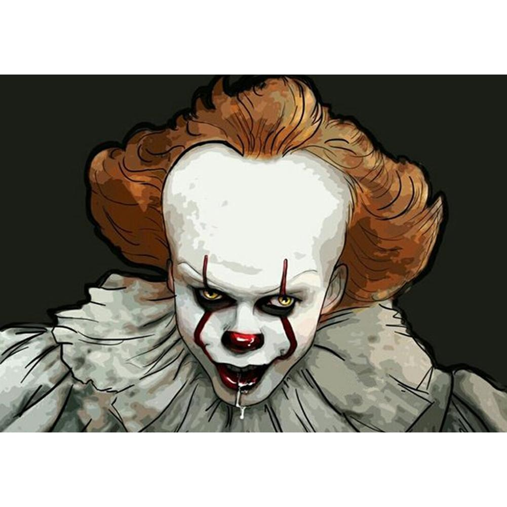 Diamond Painting - Full Round - Clown
