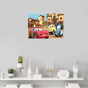Diamond Painting - Full Round - Car's Party