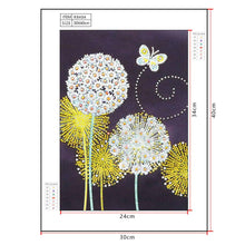 Load image into Gallery viewer, Diamond Painting - Crystal Rhinestone - Dandelion