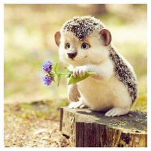 Load image into Gallery viewer, Diamond Painting - Full Round - Cute Hedgehog