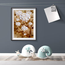 Load image into Gallery viewer, Diamond Painting - Full Round - Gorgeous Flower