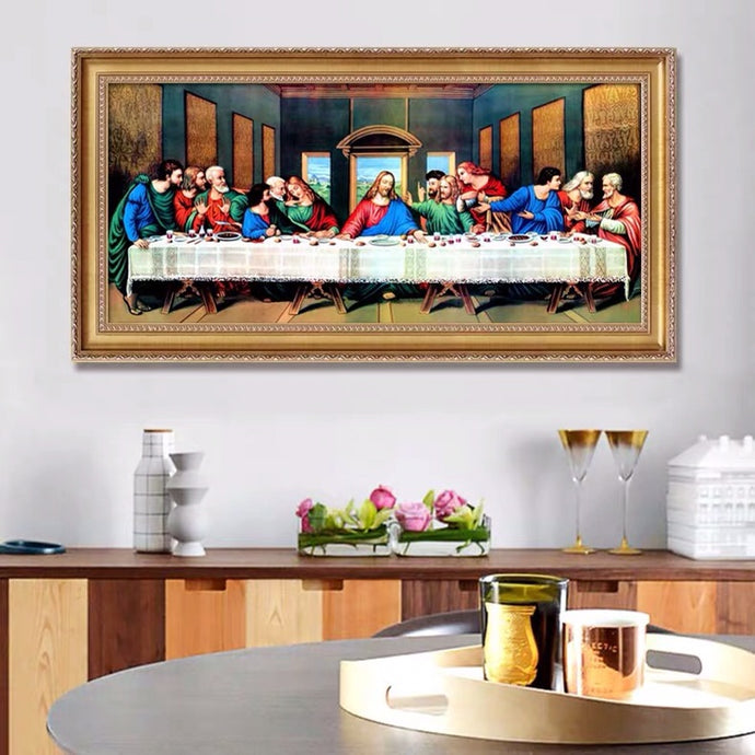 Diamond Painting - Full Round - The Last Supper (80*30cm)