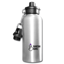 Load image into Gallery viewer, Bangtan Bums Water Bottle - silver
