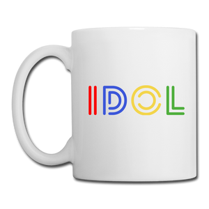 Coffee/Tea Mug , IDOL - white