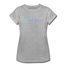 Load image into Gallery viewer, Women's Relaxed Fit T-Shirt, Magic Shop - heather gray