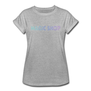 Women's Relaxed Fit T-Shirt, Magic Shop - heather gray