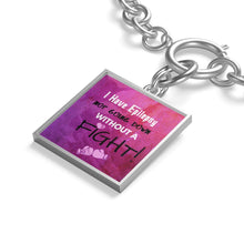 Load image into Gallery viewer, Epilepsy Warrior Chain Bracelet - Coach Rock