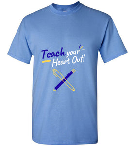 Teach Your Heart Out Unisex T-Shirt - Coach Rock