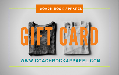 Gift Card - Coach Rock