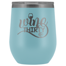 Load image into Gallery viewer, Wine Thirty 12oz Wine Tumbler with Lid - Coach Rock